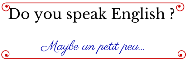 Do you speak English _